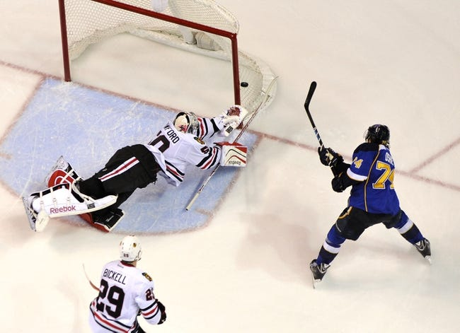 St. Louis Blues at Chicago Blackhawks Pick-Odds-Prediction - 4/27/14