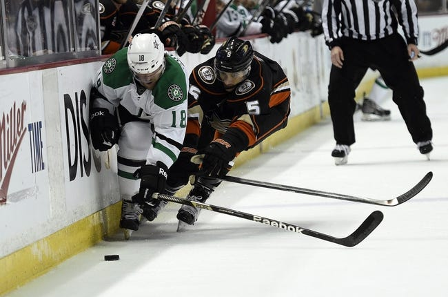 Anaheim Ducks at Dallas Stars Pick-Odds-Prediction - 4/27/14