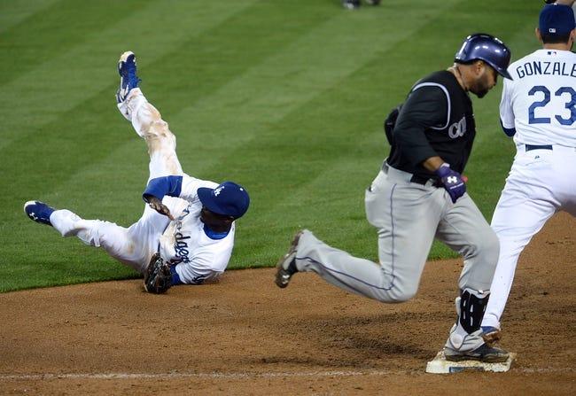 Los Angeles Dodgers vs. Colorado Rockies MLB Pick, Odds, Prediction - 4/26/14