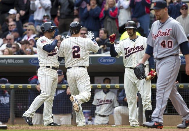 Minnesota Twins vs. Detroit Tigers MLB Pick, Odds, Prediction 4/27/14