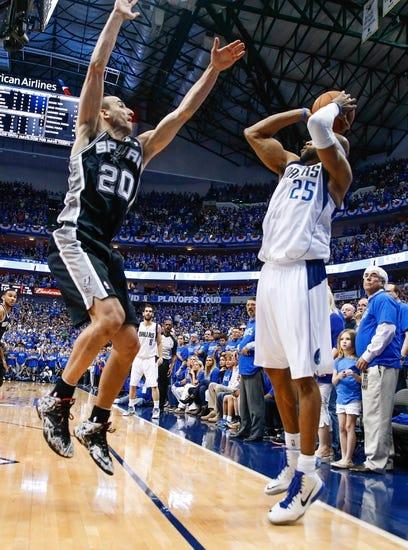 Dallas Mavericks vs. San Antonio Spurs - 4/28/14