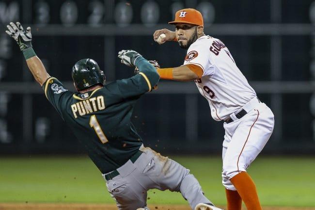 Oakland Athletics vs. Houston Astros MLB Pick, Odds, Prediction 7/22/14