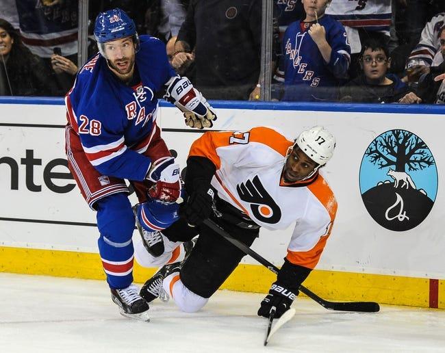 New York Rangers at Philadelphia Flyers - 4/29/14