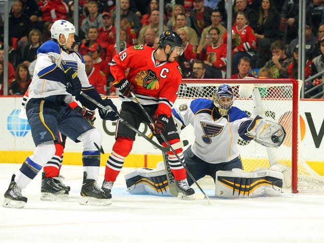 St. Louis Blues vs. Chicago Blackhawks Pick-Odds-Prediction - 10/25/14