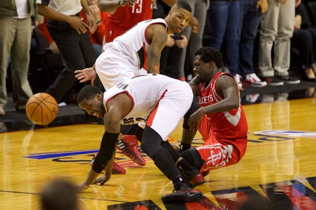 Houston Rockets vs. Portland Trail Blazers - 4/30/14