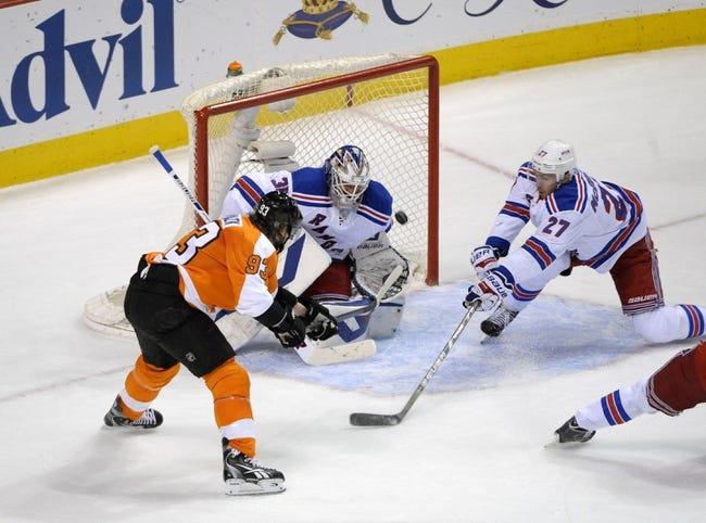 New York Rangers vs. Philadelphia Flyers - 4/30/14