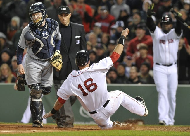 Boston Red Sox vs. Tampa Bay Rays Pick-Odds-Prediction - 5/1/14 Game One