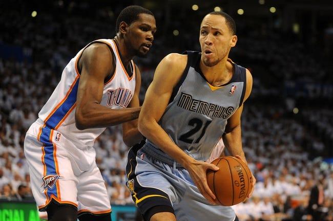 Memphis Grizzlies vs. Oklahoma City Thunder - 5/1/14