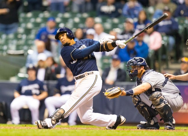 San Diego Padres vs. Milwaukee Brewers MLB Pick, Odds, Prediction - 8/25/14
