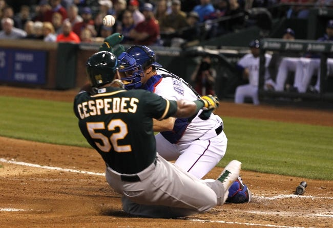 Oakland Athletics vs. Texas Rangers MLB Pick, Odds, Predcition 6/16/14