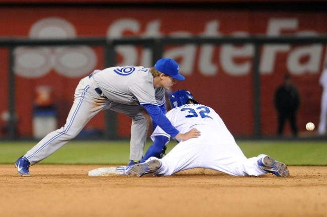 Kansas City Royals vs. Toronto Blue Jays MLB Pick, Odds, Prediction 5/1/14