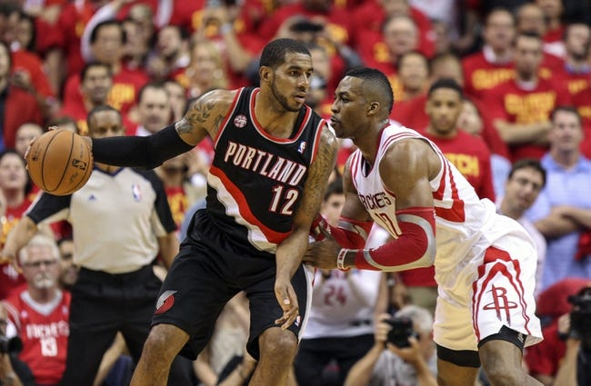 Portland Trail Blazers vs. Houston Rockets - 5/2/14
