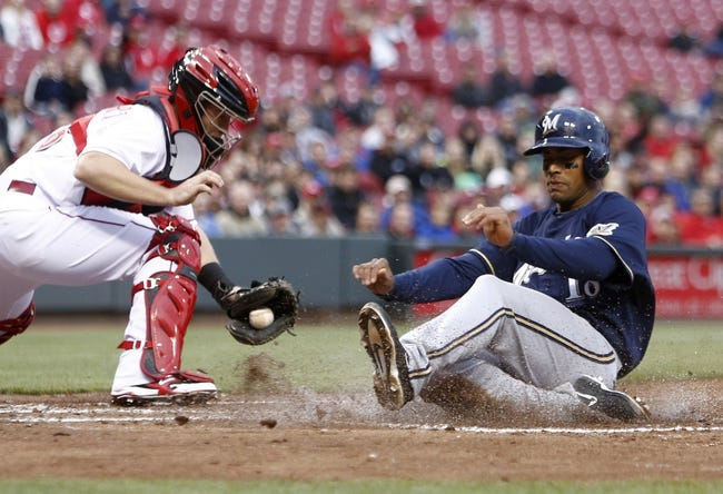 Cincinnati Reds vs. Milwaukee Brewers MLB Pick, Odds, Prediction 5/2/14
