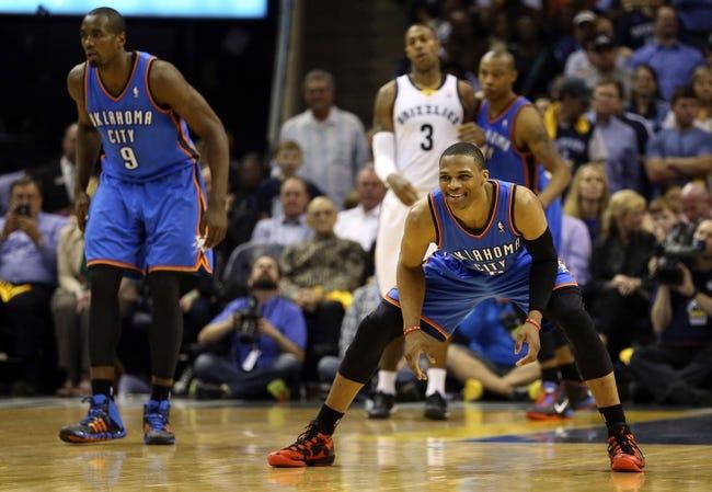 Memphis Grizzlies at Oklahoma City Thunder NBA Pick, Odds, Prediction - 5/3/14 Game Seven