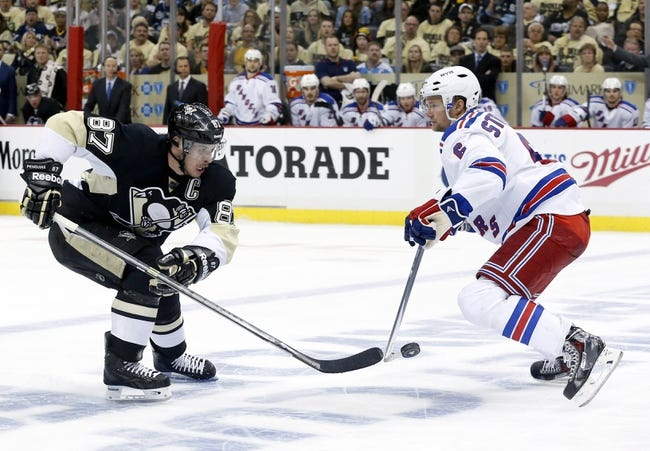 New York Rangers at Pittsburgh Penguins Pick-Odds-Prediction - 5/4/14