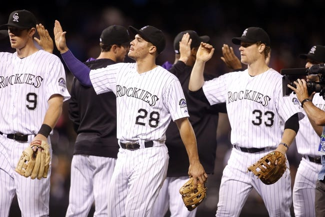 Colorado Rockies vs. New York Mets - 5/4/14