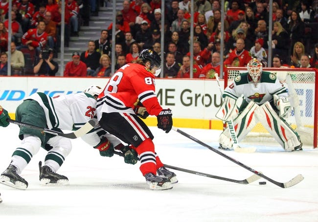 Chicago Blackhawks vs. Minnesota Wild - 5/4/14