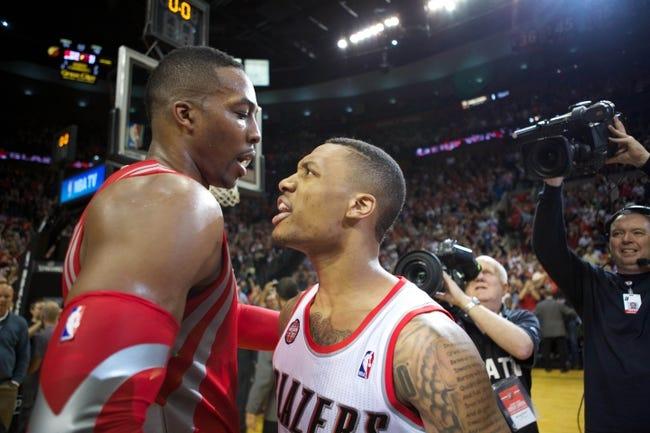 Houston Rockets vs. Portland Trail Blazers - 12/22/14 NBA Pick, Odds, and Prediction