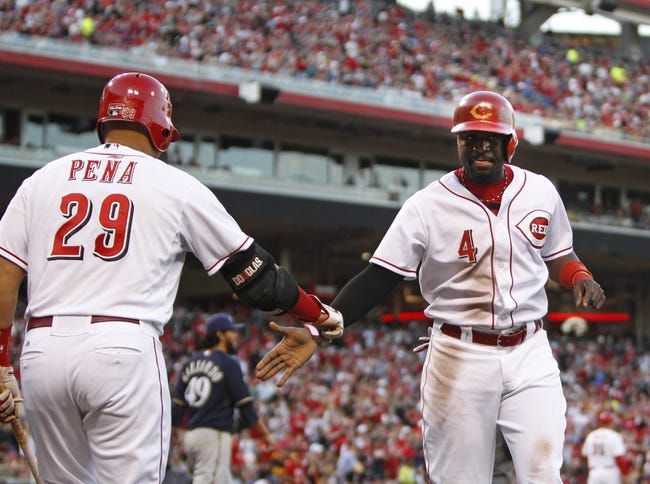 Cincinnati Reds vs. Milwaukee Brewers - 5/4/14