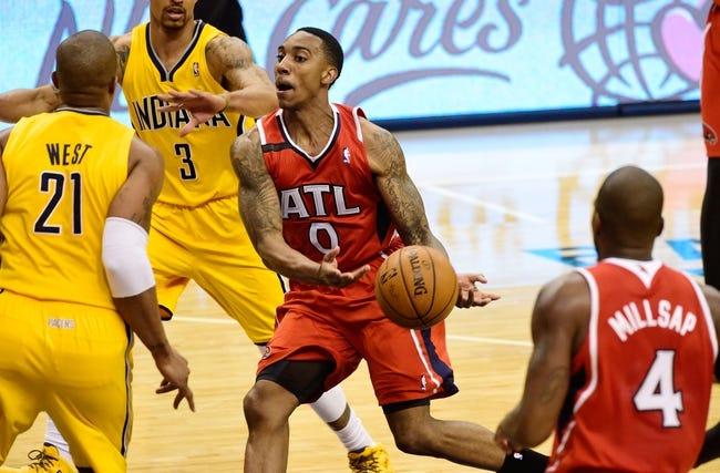 Atlanta Hawks vs. Indiana Pacers - 11/1/14 NBA Pick, Odds, and Prediction