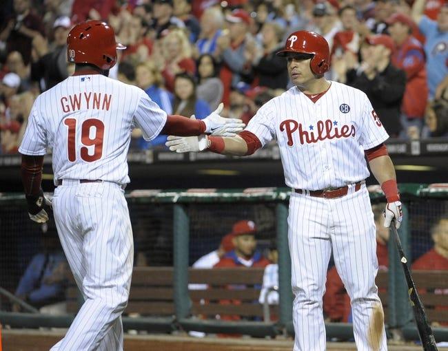 Philadelphia Phillies vs. Washington Nationals - 5/4/14