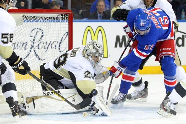 New York Rangers vs. Pittsburgh Penguins - 5/7/14