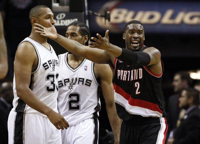 Portland Trail Blazers vs San Antonio Spurs - 5/8/14