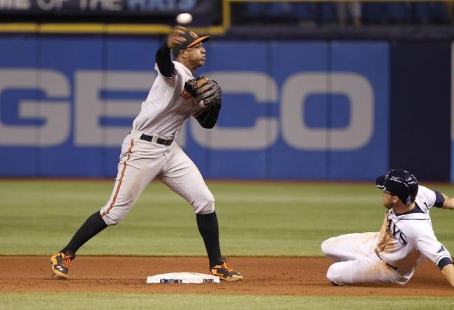Tampa Bay Rays vs. Baltimore Orioles Pick-Odds-Prediction - 6/16/14