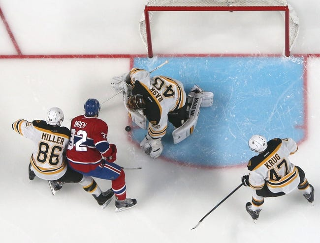 Montreal Canadiens at Boston Bruins Pick-Odds-Prediction - 5/10/14