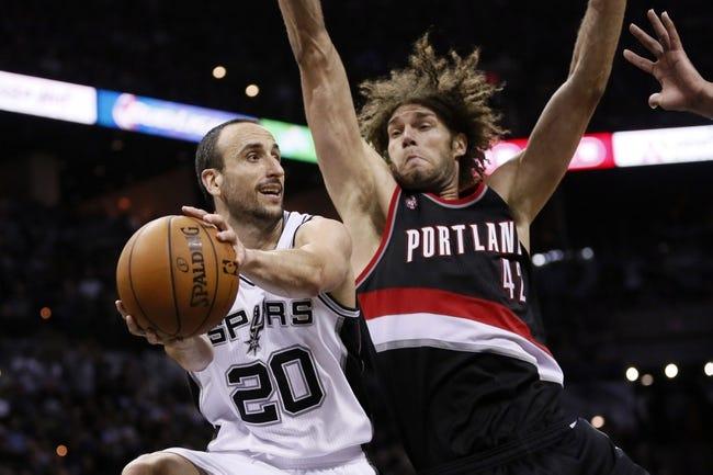 San Antonio Spurs vs. Portland Trailblazers - 5/10/14