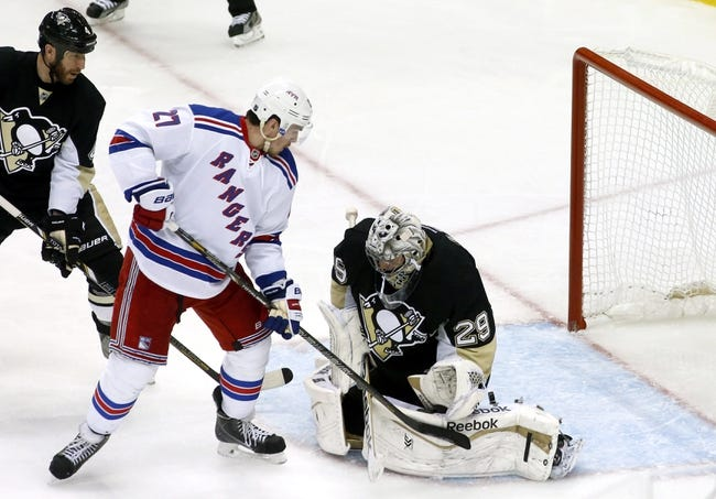 Pittsburgh Penguins at New York Rangers Pick-Odds-Prediction - 5/11/14