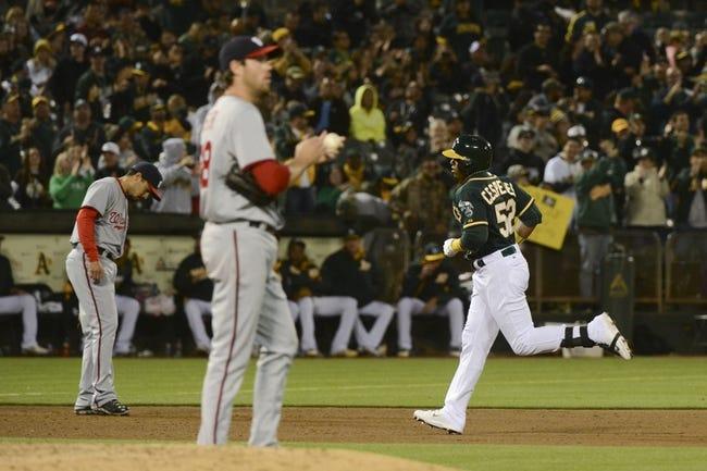 Oakland Athletics vs. Washington Nationals MLB Pick, Odds, Prediction - 5/10/14