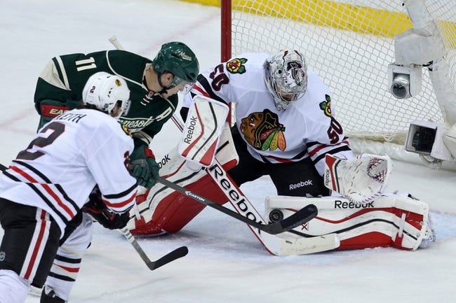 Chicago Blackhawks vs. Minnesota Wild - 5/11/14
