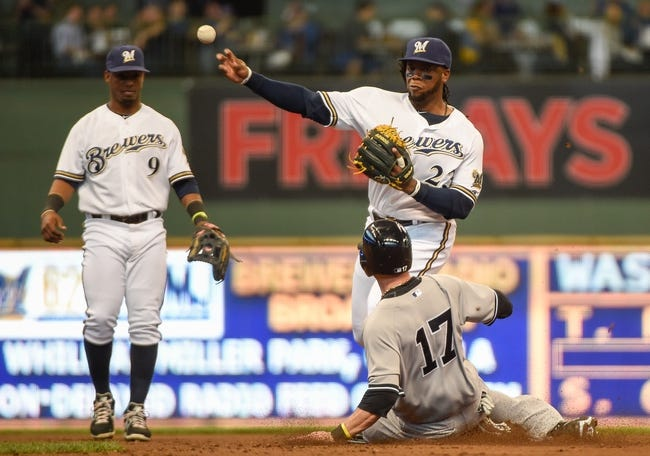 New York Yankees at Milwaukee Brewers MLB Pick, Odds, Prediction - 5/11/14