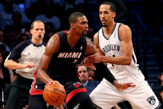 Miami Heat at Brooklyn Nets NBA Pick, Odds, Prediction - 5/12/14 Game Four