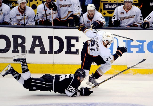 Los Angeles Kings at Anaheim Ducks Pick-Odds-Prediction - 5/12/14