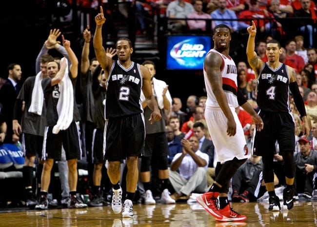 San Antonio Spurs at Portland Trail Blazers NBA Pick, Odds, Prediction - 5/12/14 Game Four