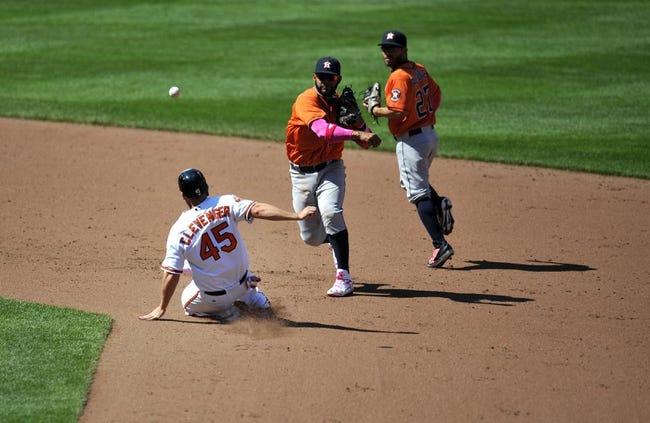Houston Astros vs. Baltimore Orioles MLB Pick, Odds, Prediction 5/29/14