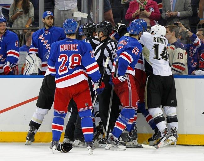 New York Rangers at Pittsburgh Penguins - 5/13/14