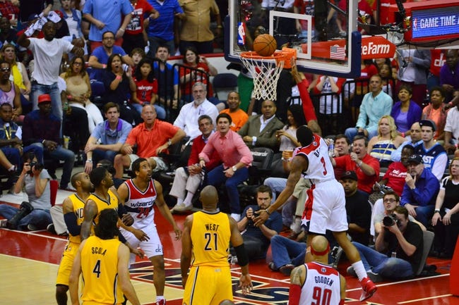 Washington Wizards at Indiana Pacers NBA Pick, Odds, Prediction - 5/13/14 Game Five