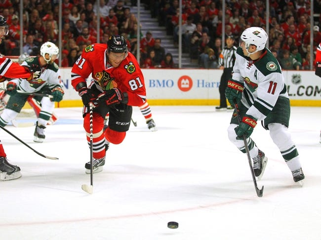 Chicago Blackhawks at Minnesota Wild NHL Pick, Odds, Prediction - 5/13/14 Game Six