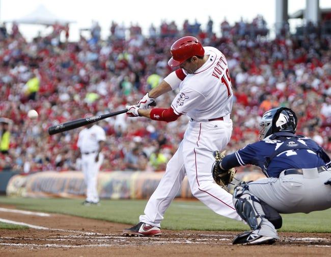 San Diego Padres vs. Cincinnati Reds MLB Pick, Odds, Prediction - 6/30/14