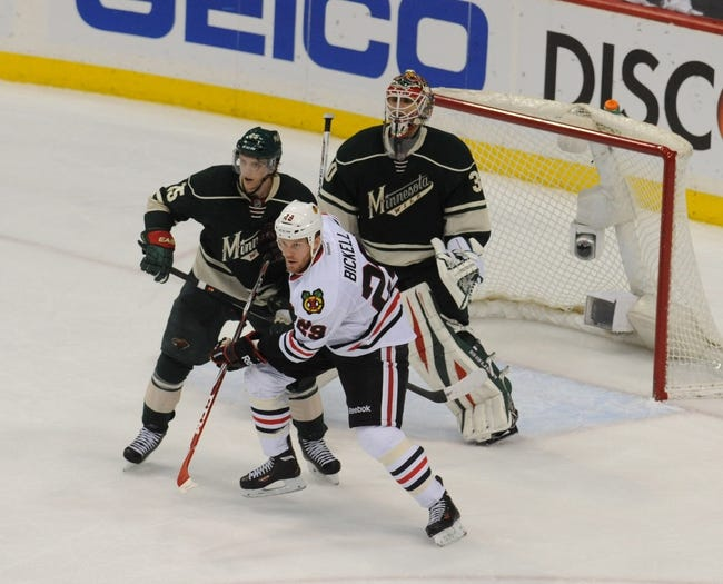 Chicago Blackhawks vs. Minnesota Wild - 12/16/14 NHL Pick, Odds, and Prediction