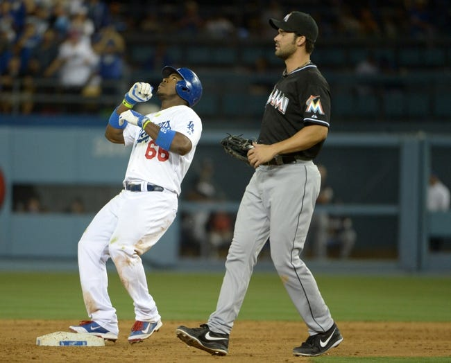 Los Angeles Dodgers vs. Miami Marlins Pick-Odds-Prediction - 5/14/14
