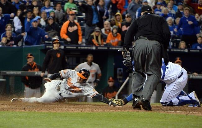 Kansas City Royals vs. Baltimore Orioles MLB Pick, Odds, Prediction - 5/16/14
