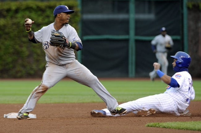 Milwaukee Brewers vs. Chicago Cubs Pick-Odds-Prediction - 5/30/14