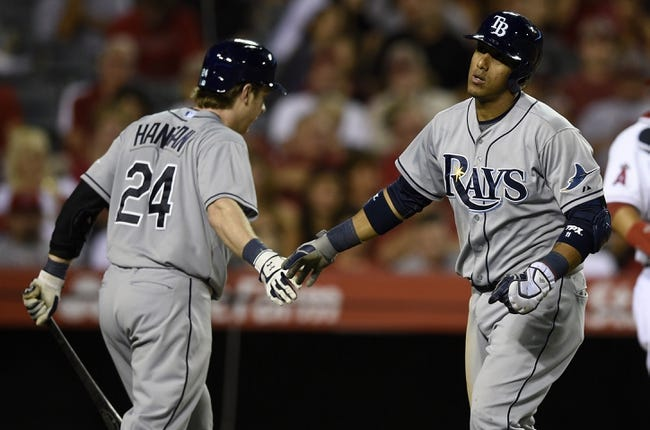 Los Angeles Angels vs. Tampa Bay Rays Pick-Odds-Prediction - 5/17/14