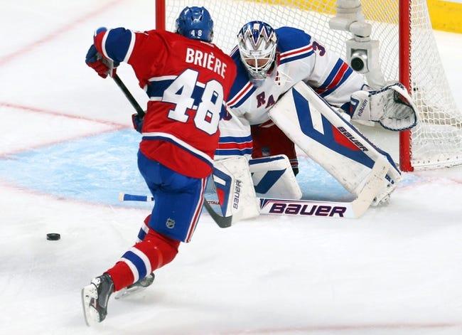 Montreal Canadiens vs. New York Rangers NHL Pick, Odds, Prediction 5/19/14