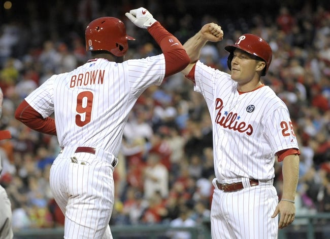 Philadelphia Phillies vs. Cincinnati Reds MLB Pick, Odds, Prediction 5/18/14