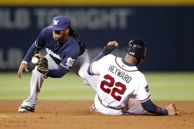Atlanta Braves vs. Milwaukee Brewers MLB Pick, Odds, Prediction - 5/21/14